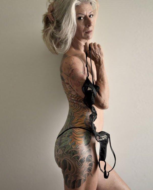 tattooed elderly people 14 605