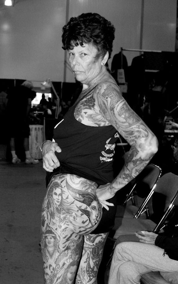 tattooed elderly people 16 605
