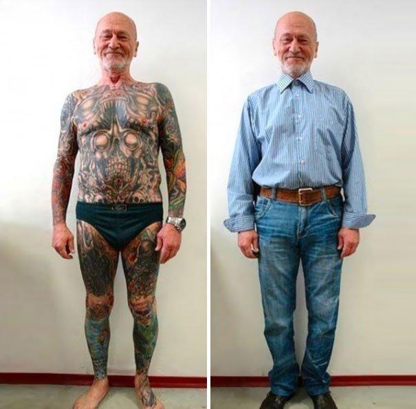 tattooed elderly people 18 605