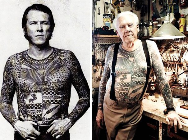 tattooed elderly people 21 605