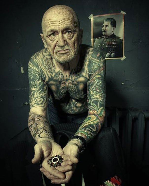 tattooed elderly people 22 605