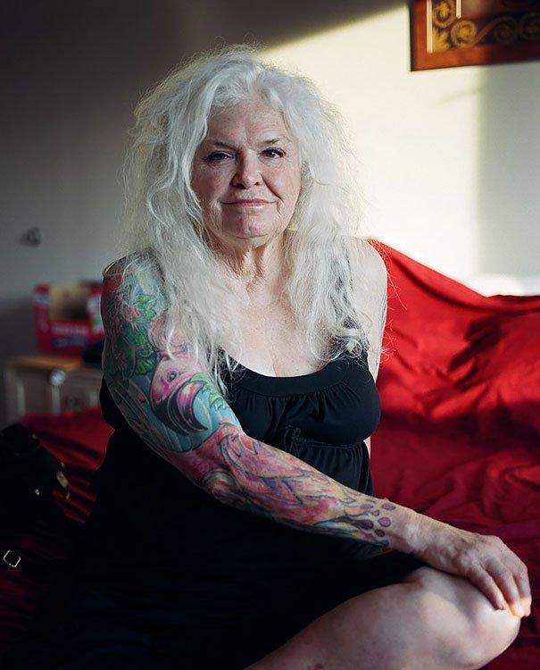tattooed elderly people 24 605