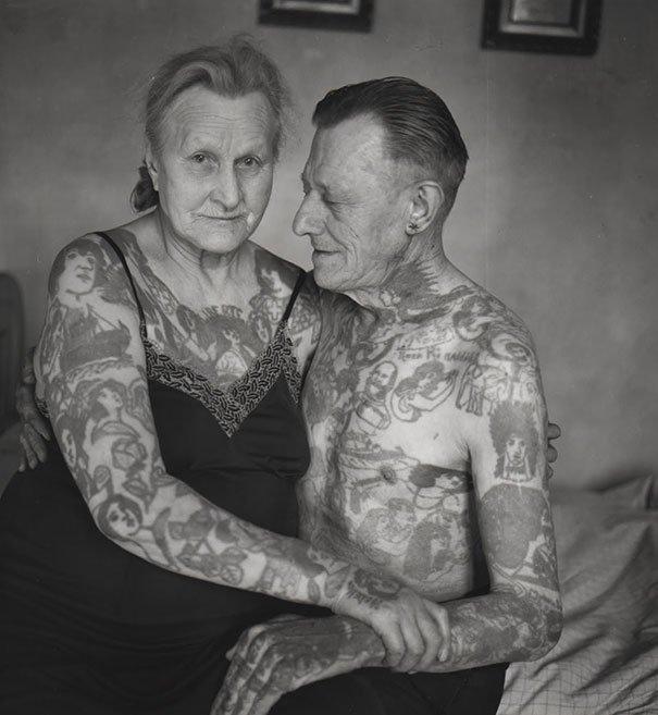 tattooed elderly people 28 605