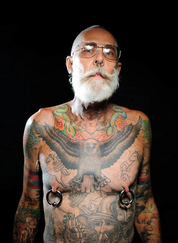 tattooed elderly people 3 605