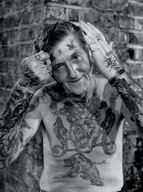 tattooed elderly people 4 605