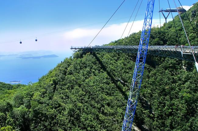 Langkawi Sky Bridge, Langkawi island, Malaysia