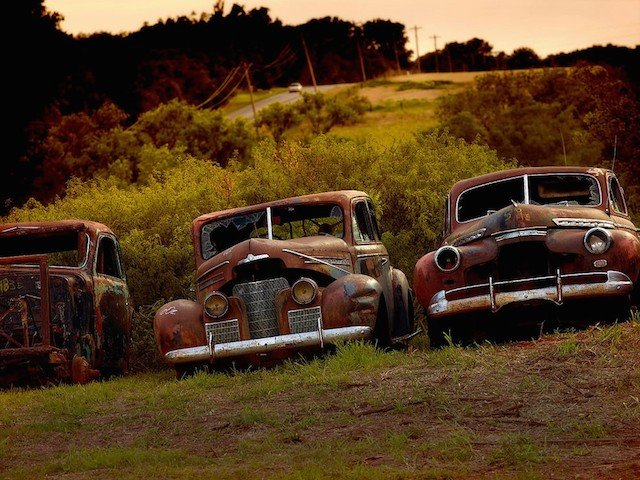 Car Graveyards Photography 10
