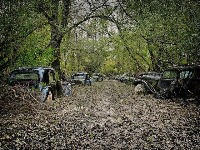 Car Graveyards Photography 12