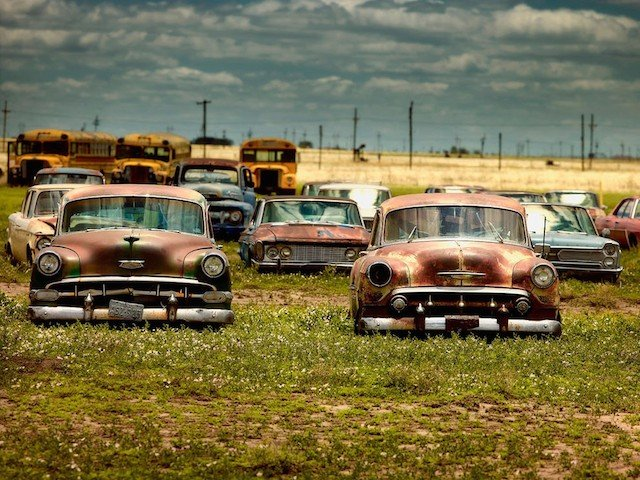 Car Graveyards Photography 14
