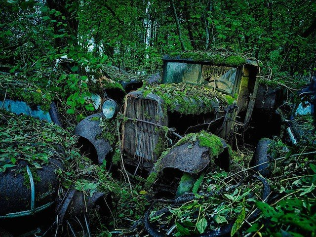 Car Graveyards Photography 17