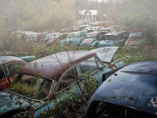 Car Graveyards Photography 1B