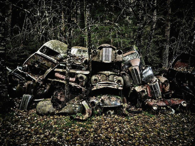 Car Graveyards Photography 20