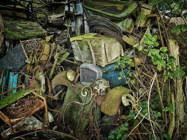 Car Graveyards Photography 9