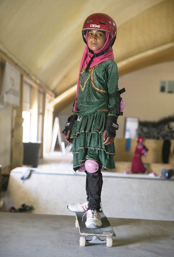 Skate Girls of Kabul Jessica Fulford Dobson 4