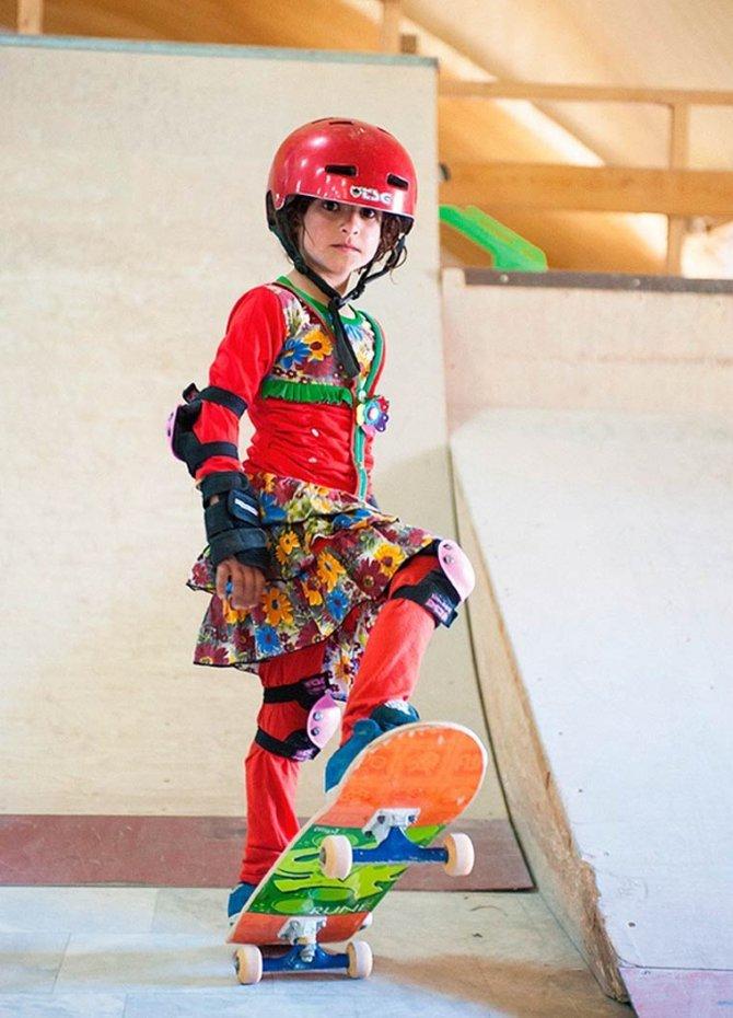 Skate Girls of Kabul Jessica Fulford Dobson 6