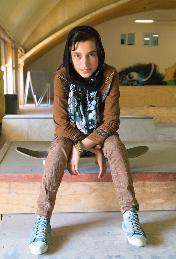 Skate Girls of Kabul Jessica Fulford Dobson 8