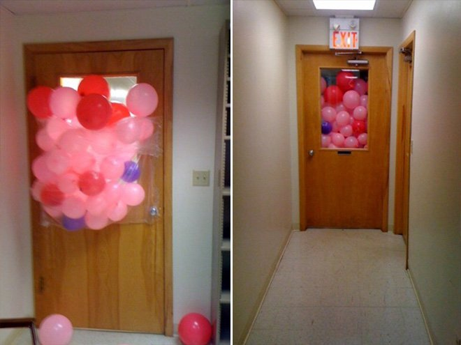 april fools balloons