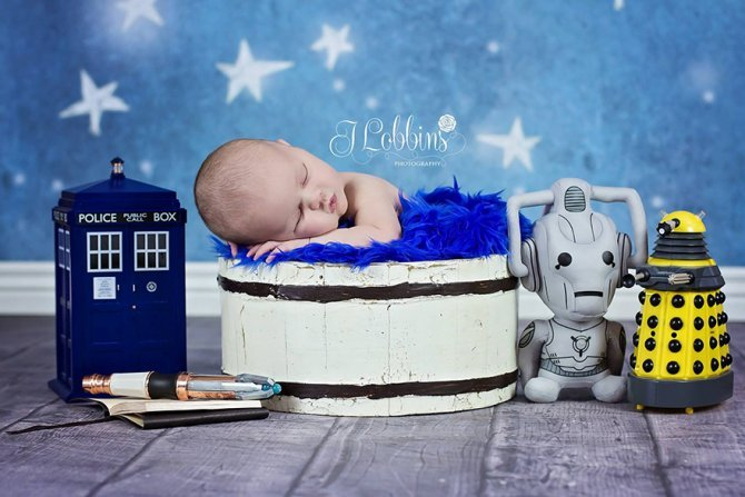 geeky newborn baby photography 15 880