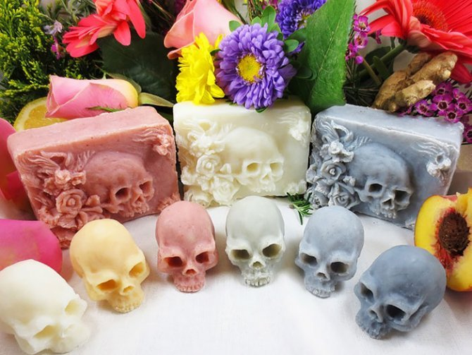 skull shaped soaps eden gorgos 1