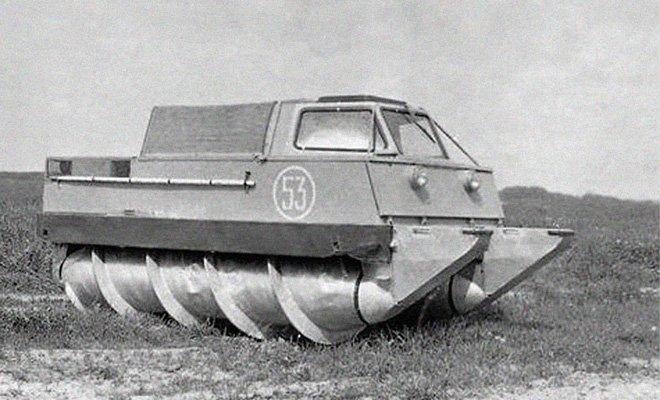 soviet car zil2906