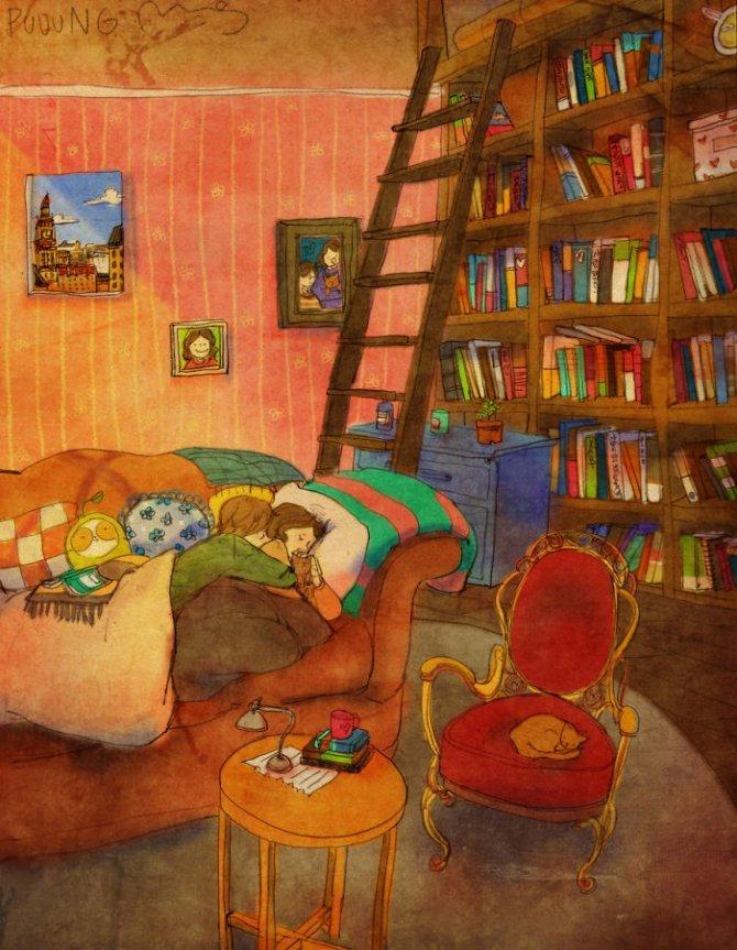 illustrazioni amore piccole cose 3
