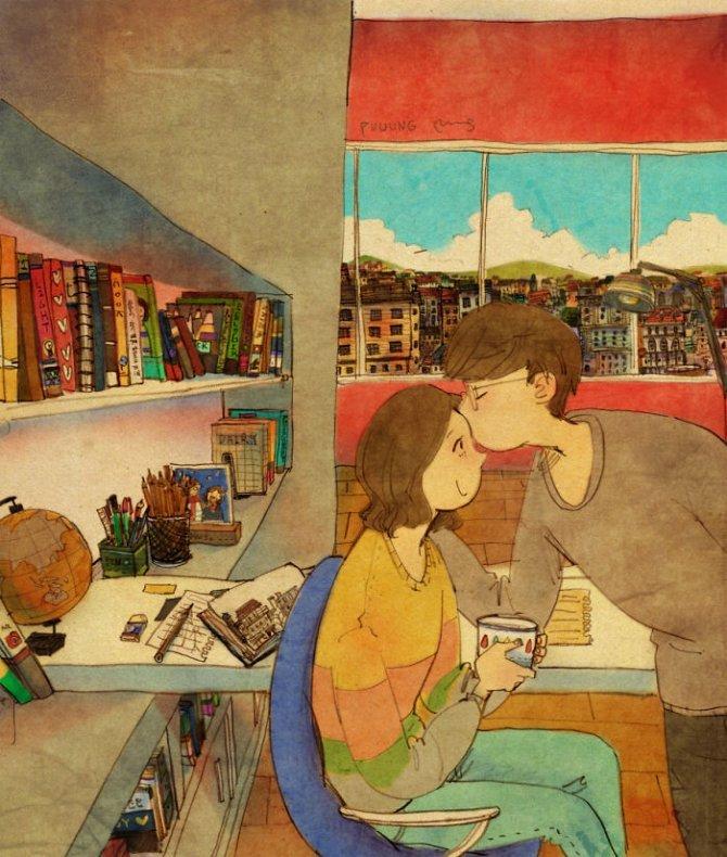 illustrazioni amore piccole cose 8