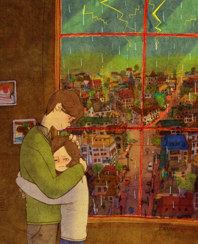 illustrazioni amore piccole cose 7