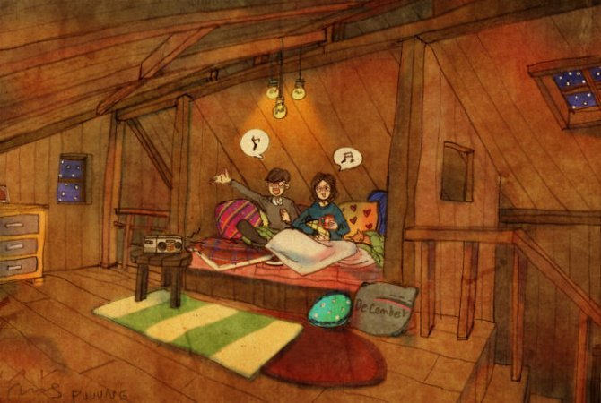 illustrazioni amore piccole cose 10
