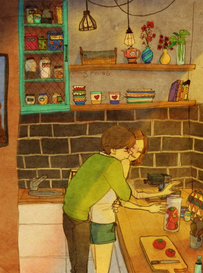 illustrazioni amore piccole cose 1