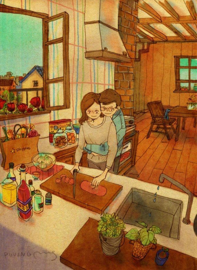 illustrazioni amore piccole cose 4