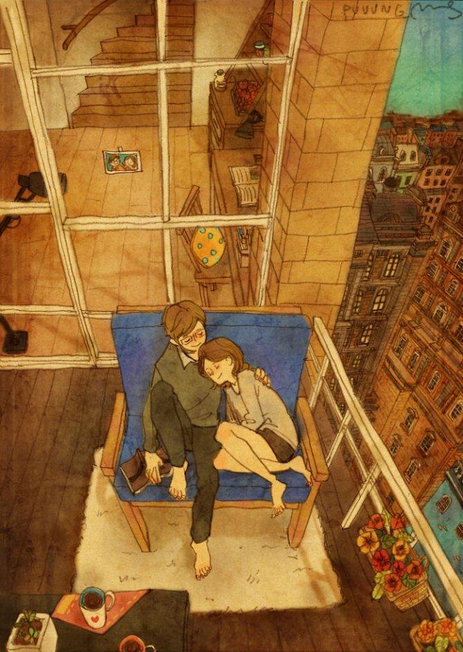 illustrazioni amore piccole cose 5