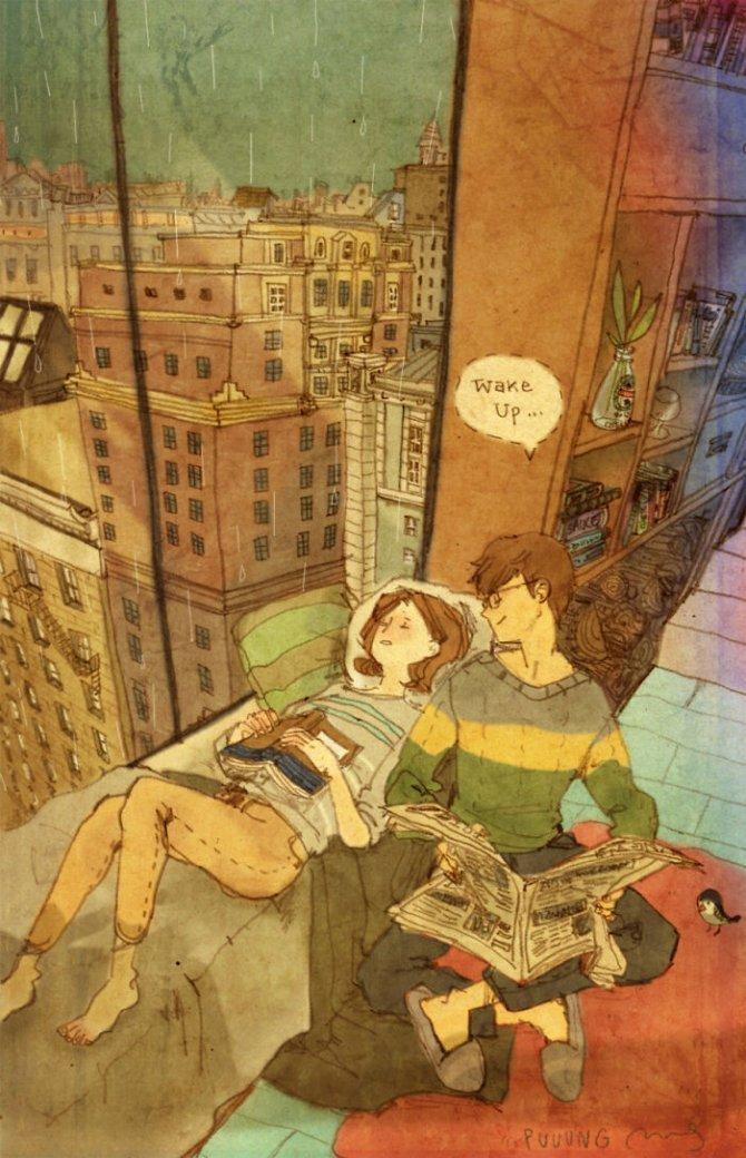 illustrazioni amore piccole cose 11