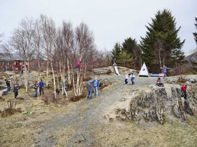 Utheim Skole, Kårvåg, Averøy, Norway © James Mollison
