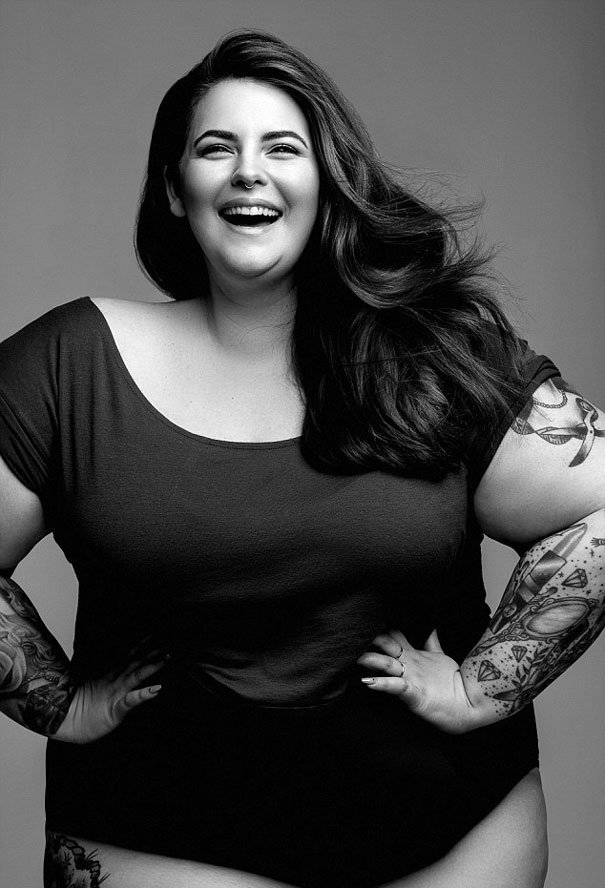 plus sized supermodel tess holliday first photoshoot milk modelling agency 1