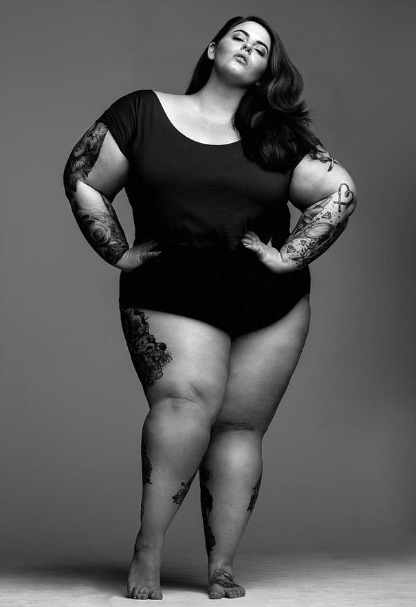 plus sized supermodel tess holliday first photoshoot milk modelling agency 2