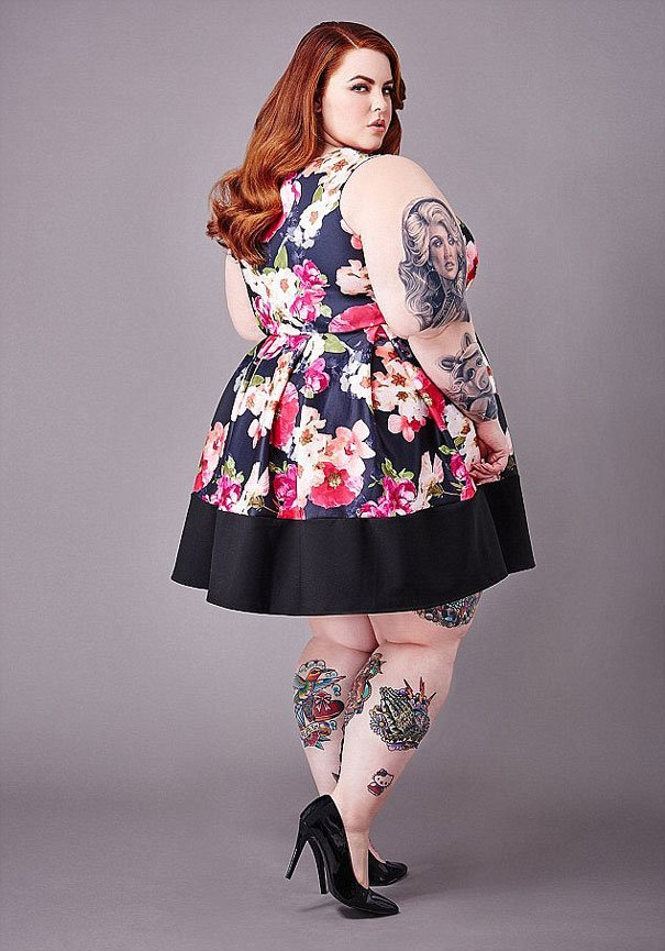 plus sized supermodel tess holliday first photoshoot milk modelling agency 4