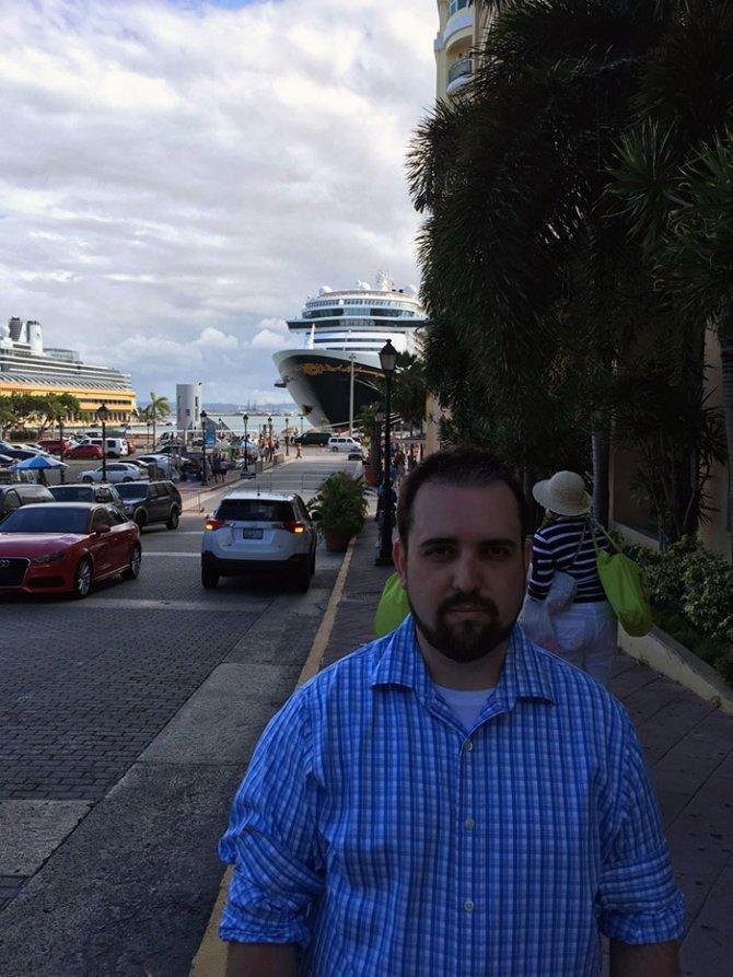 sad vacation guy has fun wife baby puerto rico 11