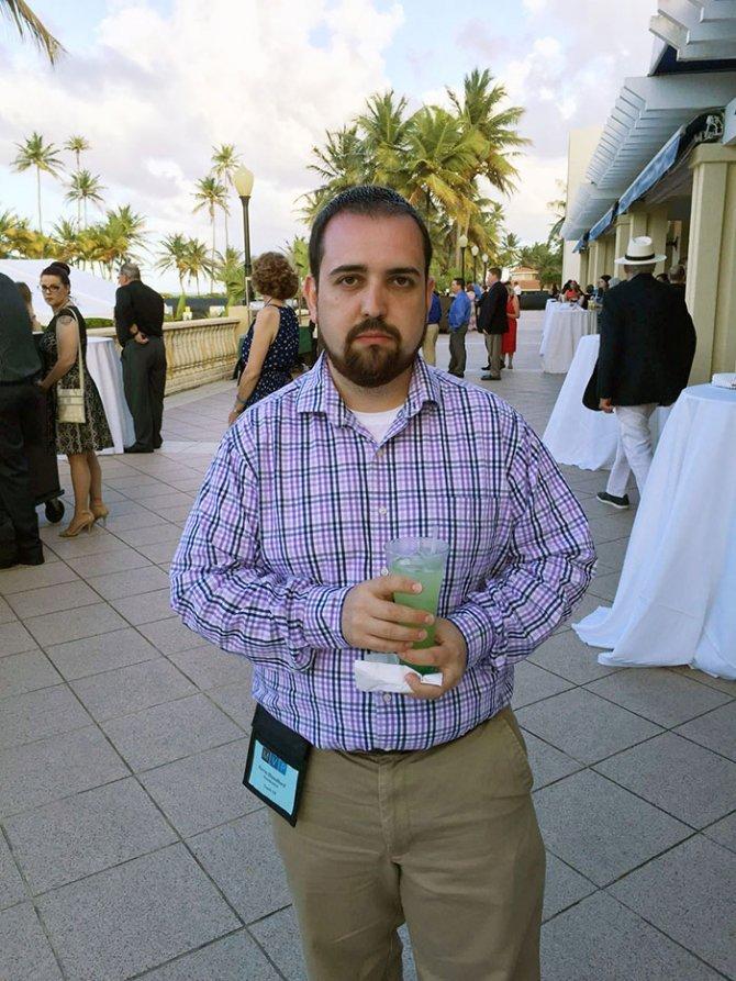 sad vacation guy has fun wife baby puerto rico 18