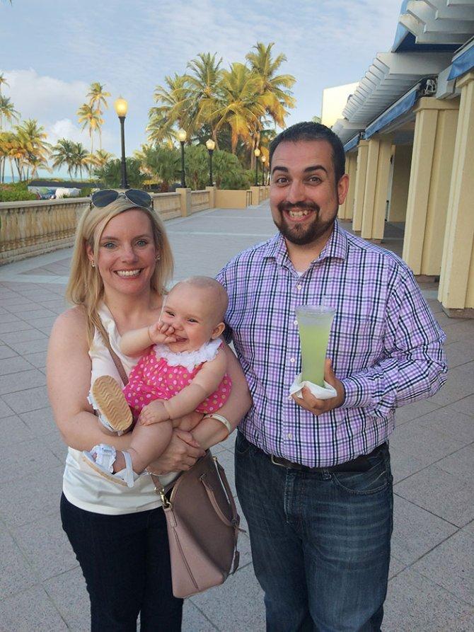 sad vacation guy has fun wife baby puerto rico 19