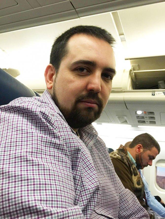 sad vacation guy has fun wife baby puerto rico 20