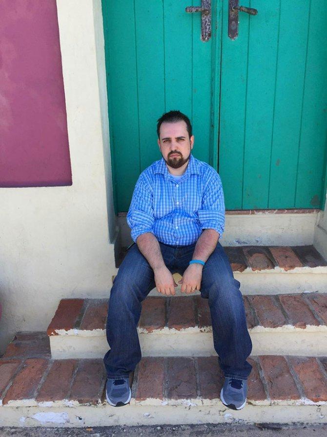 sad vacation guy has fun wife baby puerto rico 7