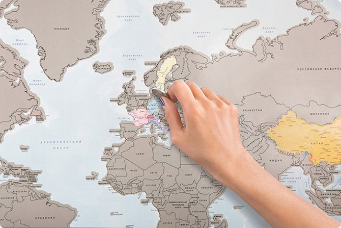 scratch off world map i was here travel 1