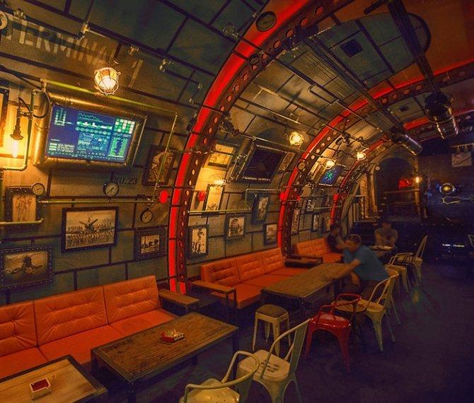 submarine pub steampunk design 6th sense interiors coverimage