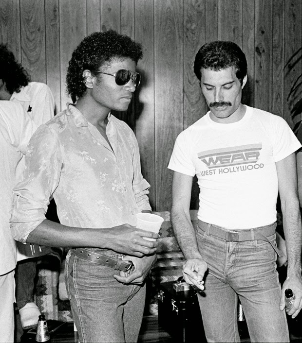 Michael Jackson First Met QUEEN in 1980 (1)