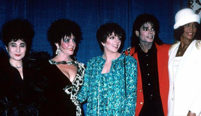 Michael Jackson Hanging Out with His Famous Friends (10)