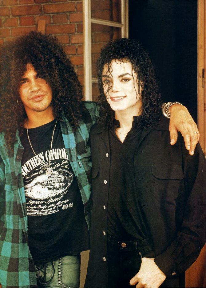 Michael Jackson Hanging Out with His Famous Friends (14)