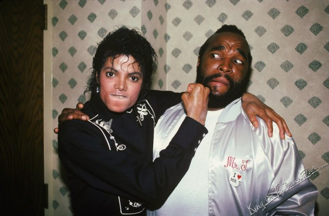 Michael Jackson Hanging Out with His Famous Friends (2)