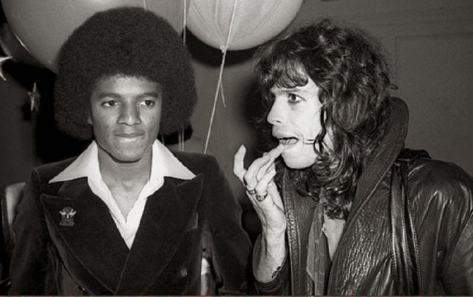 Michael Jackson Hanging Out with His Famous Friends (3)