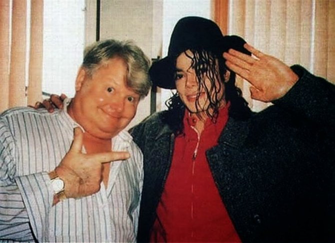 Michael Jackson Hanging Out with His Famous Friends (5)