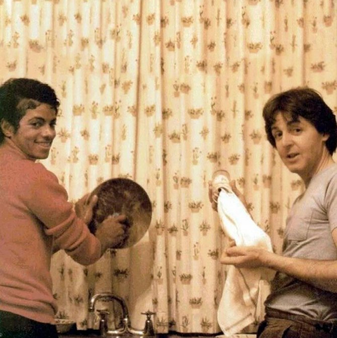 Michael Jackson Hanging Out with His Famous Friends (6)